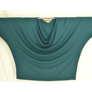 Eileen Fisher Tops - Eileen Fisher Woman top SZ 2X teal batwing jersey